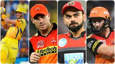 IPL Orange Cap Holders: List of Highest Scoring Batsmen From 2008-18 of Each Season in the Indian Premier League T20 Tournament