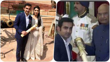 Gautam Gambhir Trolls Wife Natasha With a Hilarious Tweet After Getting Padma Award; Natasha has a Befitting Reply to the Roast