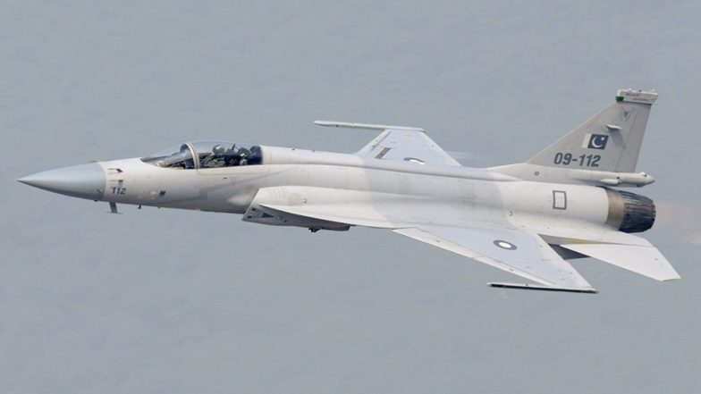 Pakistan Says It Successfully Test-fired an Indigenously Developed 'Smart Weapon' from JF-17 Fighter Jet