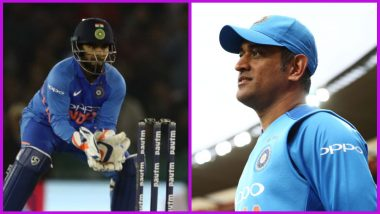 Rishabh Pant Trolled After His Dismal Performance Behind the Stumps DurIng Ind vs Aus 4th ODI, Fans Miss MS Dhoni