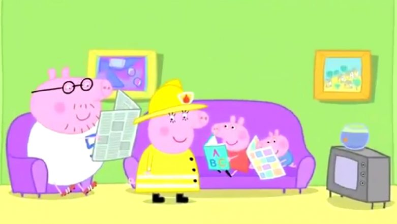 Peppa Pig Is Sexist? London Fire Brigade Accuses the Cartoon for Referring Firefighters As 'Firemen'