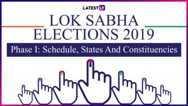 Which Lok Sabha Elections 2019 Constituencies Will Go To Polls in Phase I? List of States and Names of Seats to Vote on April 11
