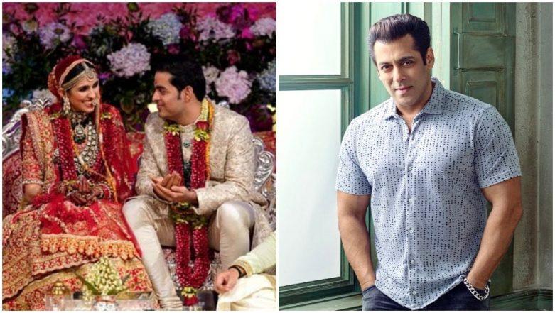 Salman Khan Made a Late Night Entry at Akash Ambani - Shloka Mehta's Wedding Bash - Watch Video