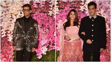 Akash Ambani - Shloka Mehta Reception Highlights: Karan Johar, Ekta Kapoor and Jeetendra Arrive