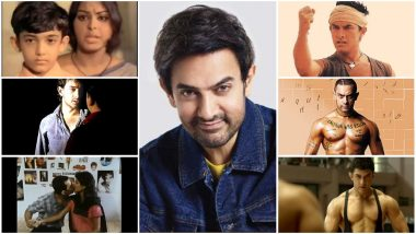 Aamir Khan Birthday Special: The Many Proud 'Firsts' of Mr Perfectionist in His Four-Decade Plus Film Career!