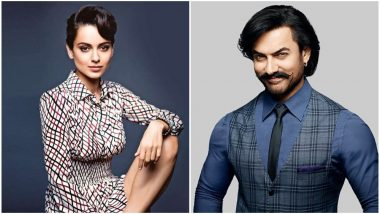 After Alia Bhatt, Now Aamir Khan's Reacts to Kangana Ranaut's Allegations About Him Ignoring Her Work