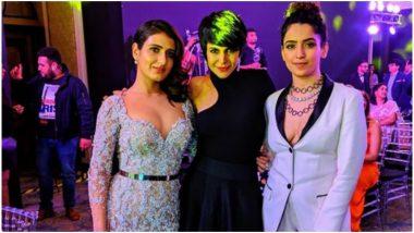 Dangal Girls Fatima Sana Shaikh and Sanya Malhotra Slay in Style at the GQ Style Awards 2019 – See Pic