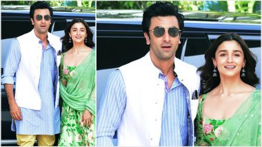 Brahmastra at Kumbh Mela: Alia Bhatt's Fun Banter With Beau Ranbir Kapoor Is a Must See – Watch Video