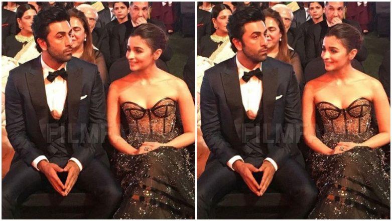 64th Vimal Filmfare Awards 2019: Lovebirds Ranbir Kapoor-Alia Bhatt's Stylish Avatar Makes us Say WOW - See Pics