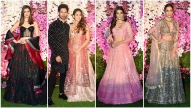 Akash Ambani - Shloka Mehta Wedding Reception Best Dressed: Malaika Arora, Kriti Sanon and Shahid Kapoor Dazzle in Their #OOTNs