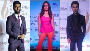 Maharashtra Achievers Awards 2019: Alia Bhatt, Vicky Kaushal and Rajkummar Rao Among the Attendees - View Pics