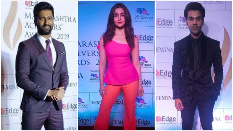 Maharashtra Achievers Awards 2019: Alia Bhatt, Vicky Kaushal and Rajkummar Rao Among the Attendees - View Pics