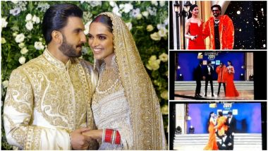 Ranveer Singh and Deepika Padukone Do the Saat Pheras Once Again This Time at Zee Cine Awards 2019 – Watch Video