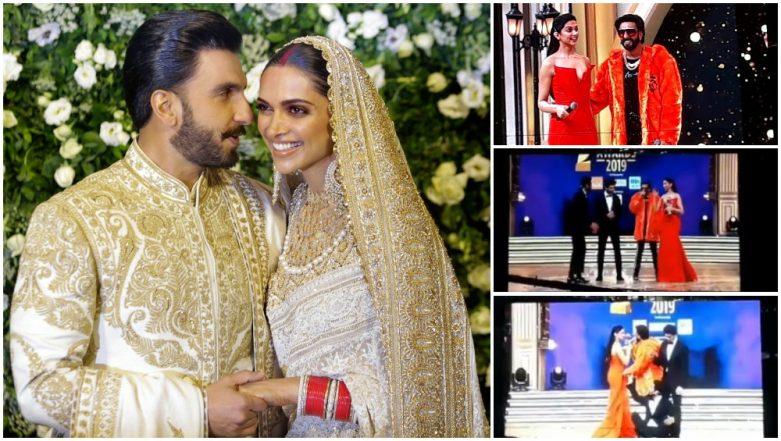 Ranveer Singh and Deepika Padukone Do the Saat Pheras Once Again This Time at Zee Cine Awards 2019 – Watch Video