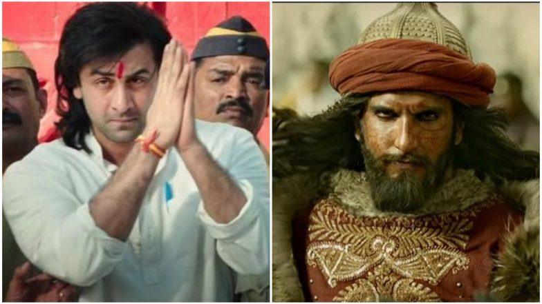 64th Filmfare Awards 2019 Best Actor Award: Ranbir Kapoor Takes Trophy in Popular Category for Sanju; Ranveer Singh Scores in Critics' Choice for Padmaavat