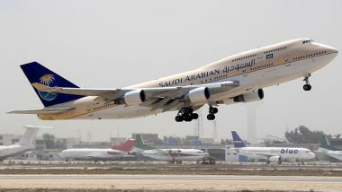 Kerala Man Unzips His Pant in Front of Woman Crew in Saudi Airlines Flight, Detained