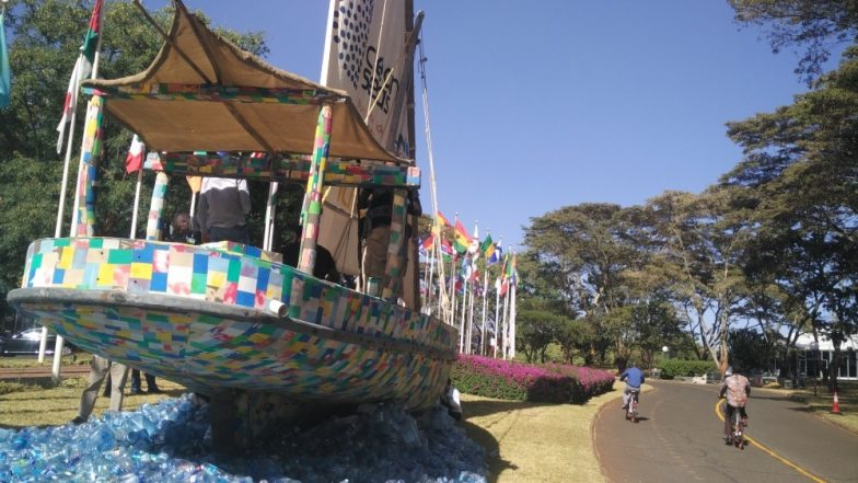 Eliminate Single-Use Plastics! Boat Made of Plastic Collected From Kenyan Beaches Sets Out on Voyage to Spread Message