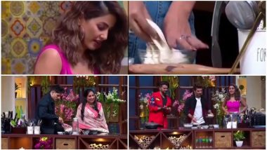 Hina Khan Gets Trolled by BFF Priyank Sharma and Host Arjun Bijlani on Kitchen Champion, Here's Why!