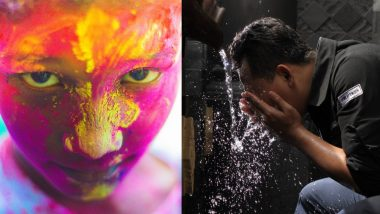 Holi 2019: How to Remove Holi Colours Safely from Your Skin and Hair
