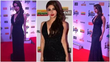64th Vimal Filmfare Awards 2019: Mouni Roy Sets the Red Carpet on Fire With Her Fashion Statement – View Pic