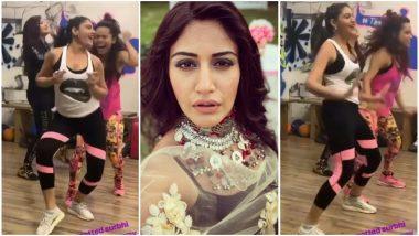 Ishqbaaz Actress Surbhi Chandna Shares a Fun Zumba Workout