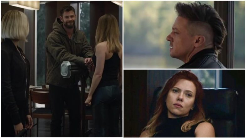 Avengers Endgame Trailer From A Scared Thanos To Hawkeyes Mohawk