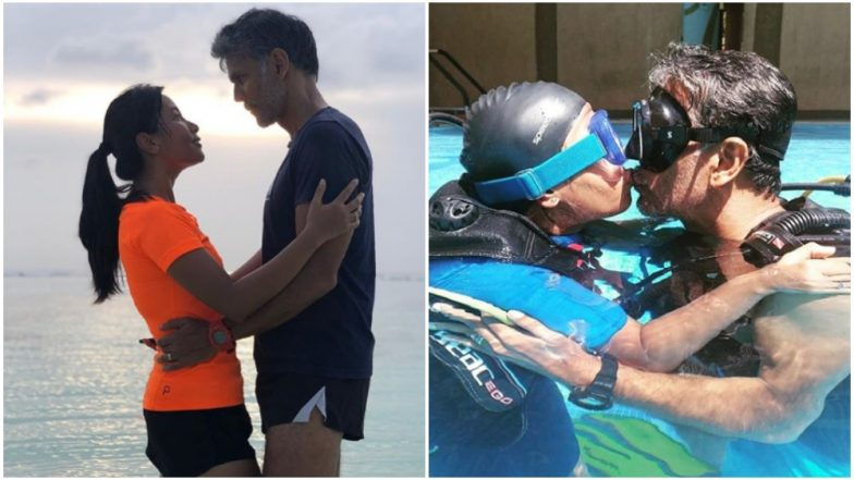 Milind Soman and Ankita Konwar's Maldives Holiday Was All About Getting Lost in Each Other - View Pics