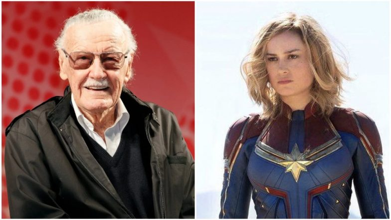 Captain Marvel features a Stan Lee cameo and a moving tribute