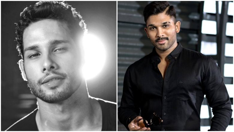 Gully Boy Actor Siddhant Chaturvedi Is a Die-Hard Fan of Tollywood Star Allu Arjun! This Viral Video Is Proof