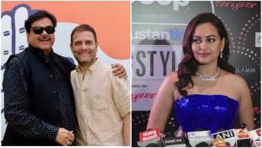 Sonakshi Sinha Backs Her Father Shatrughan Sinha's Decision to Quit BJP and Join Congress Ahead of 2019 Lok Sabha Elections