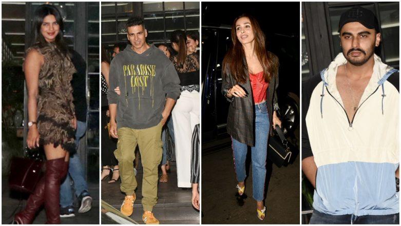 Priyanka Chopra, Akshay Kumar, Arjun Kapoor and Malaika Arora Party Hard at Huma Qureshi's Bash Tonight - View Pics