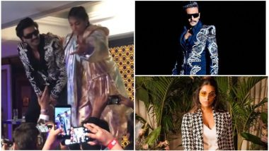 Watch the Crazy Duo Ranveer Singh and Superwoman Lilly Singh Rapping Together at the GQ Style Awards 2019! Video