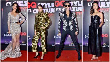 GQ Style and Culture Awards 2019 Best Dressed: Anushka Sharma, Ranveer Singh, Fatima Sana Shaikh Slay on the Red Carpet and How!