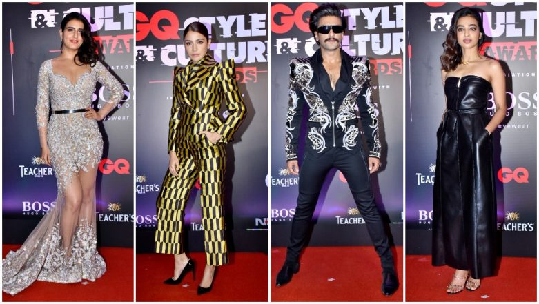 GQ Style and Culture Awards 2019 Best Dressed: Anushka Sharma, Ranveer Singh, Fatima Sana Shaikh Slay on the Red Carpet and How!