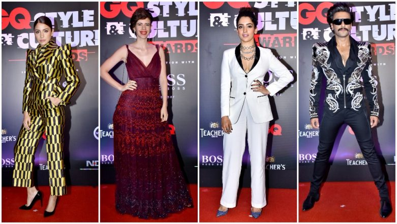 GQ Style and Cultural Awards 2019: Ranveer Singh, Anushka Sharma, Radhika Apte Dazzle the Red Carpet