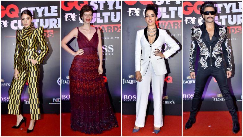 GQ Style and Cultural Awards 2019: Ranveer Singh, Anushka Sharma, Radhika Apte Dazzle the Red Carpet