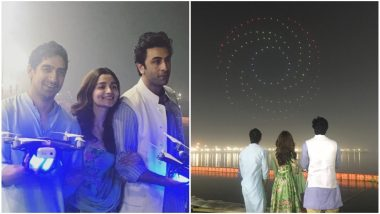 Brahmastra: Ranbir Kapoor, Alia Bhatt and Ayan Mukerji Reveal Logo of the Film at Prayagraj's Kumbh Mela 2019 in Grand Style – Watch Video