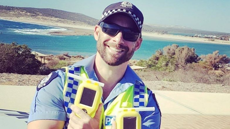 'Sexy' Photo of Senior Constable From Western Australian Police's Road Safety Campaign Goes Viral!