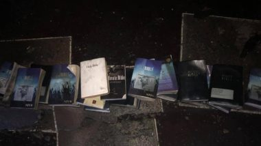Bibles And Cross Remain Intact in Fire That Engulfed West Virginia Church, Fire Department Shares Pictures