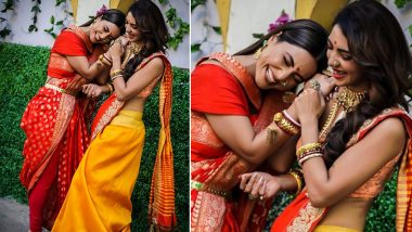Kasautii Zindagii Kay 2: This Fun BTS Pic of Hina Khan and Pooja Banerjee Is Something You Can't Miss