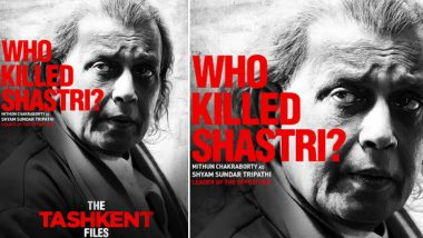 The Tashkent Files: Mithun Chakraborty As Shyam Sundar Tripathi Can Only Win, View Pic