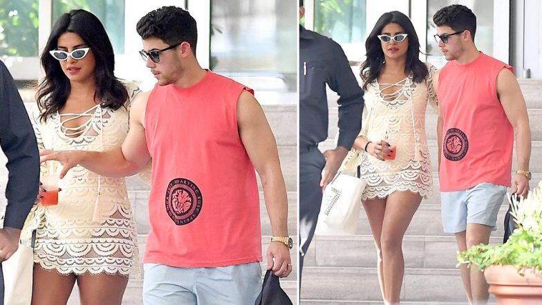 Priyanka Chopra Dons a Monokini and Takes to The Streets Of Miami; Fans Back in Mumbai Feel The Heat! View Pics