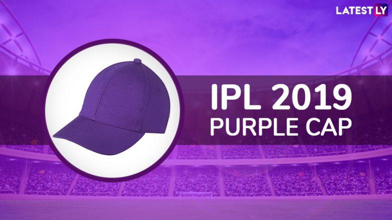 IPL 2019 Purple Cap Winner Updated: DC's Kagiso Rabada Overtakes CSK's Imran Tahir To Bag the Purple Cap in Indian Premier League 12