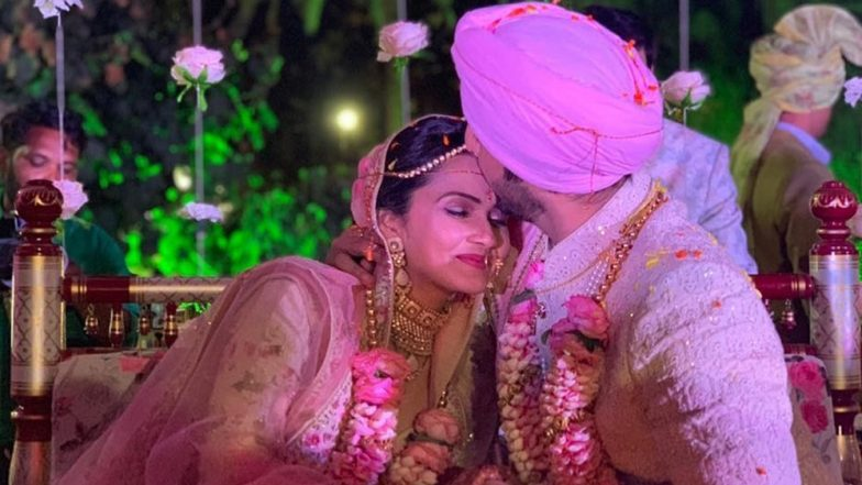 Naamkarann' Actor Puru Chibber Ties the Knot With Roshni Banthia; See First Pics