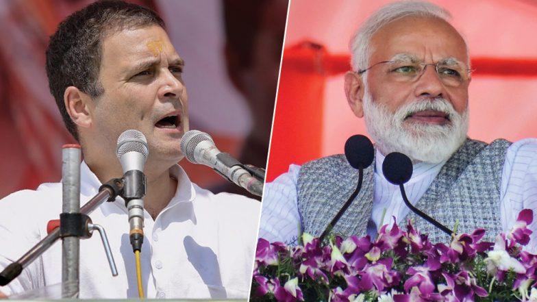 Rahul Gandhi Calls BJP Manifesto for Lok Sabha Elections 2019 'Short-Sighted and Arrogant'