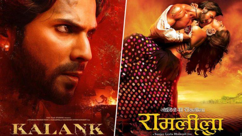 Varun Dhawan's Look In 'Kalank' Reminds Us Ranveer Singh From 'Ram Leela'! Here's Why