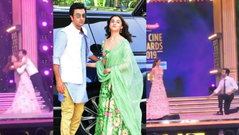 Zee Cine Awards 2019: Alia Bhatt and Ranbir Kapoor Dancing Together Will Make You Root for Their Ishq Wala Love – Watch Video
