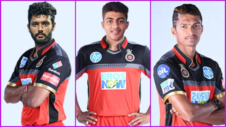Team RCB New Players: Here's a Look at Upcoming Talent in Royal Challengers Bangalore Squad for IPL 2019