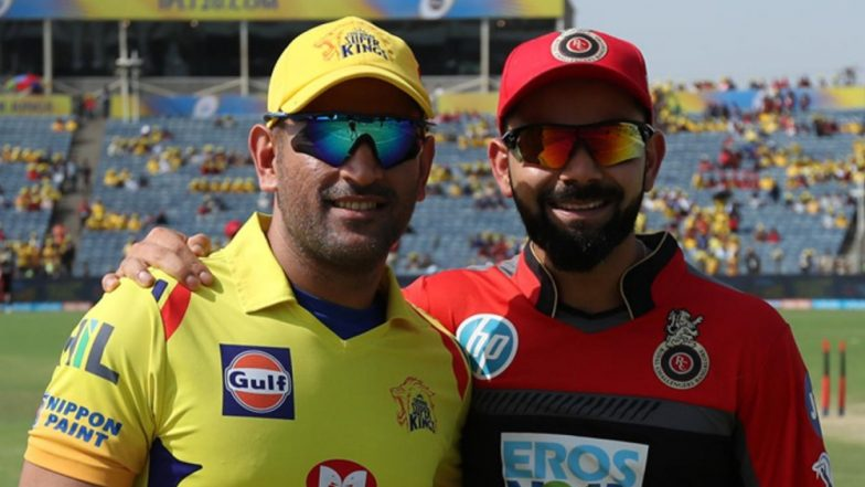 CSK vs RCB, IPL 2019: Head-to-Head Records as Chennai Super Kings Take On Royal Challengers Bangalore in Indian Premier League 12 Opening Match