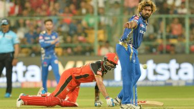 RCB vs MI IPL 2019 Stat Highlights: AB de Villiers' Heroics in Vain as Mumbai Indians Win Amidst No-Ball Controversy